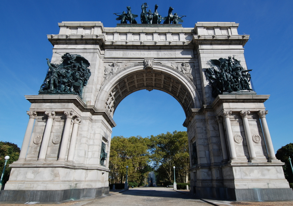 Soldiers' and Sailors' Memorial Arch, Brooklyn, New York, É,-U.