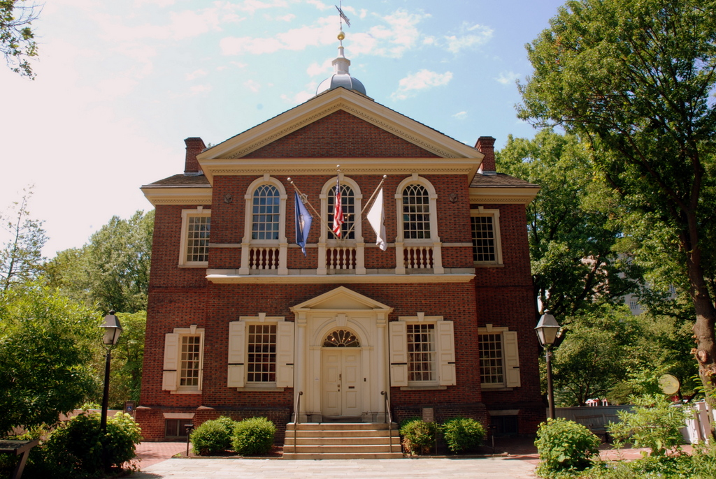 Carpenter's Hall, Philadelphie, Pennsylvanie, É.-U.