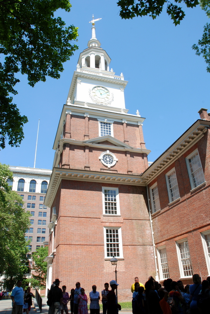 Independence Hall, Philadelphie, Pennsylvanie, É.-U.