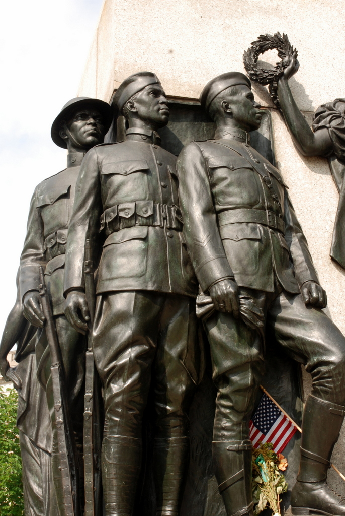 In honnor of America's Colored Soldiers, Logan Square, Philadelphie, Pennsylvanie, É.-U.