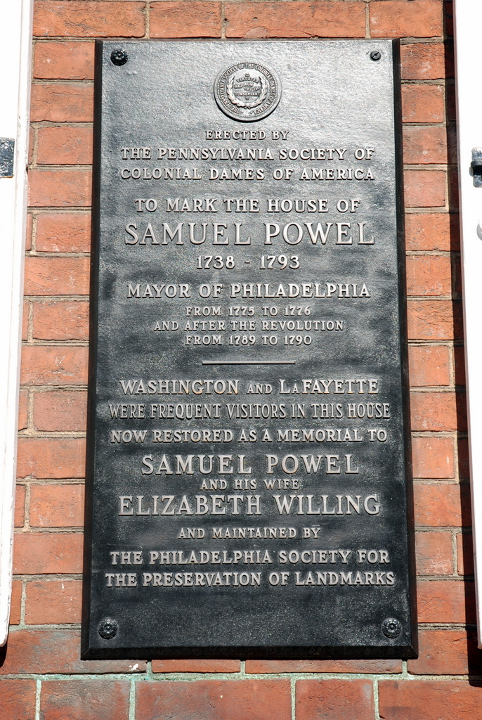 Powell House, Philadelphie, Pennsylvanie, É.-U.