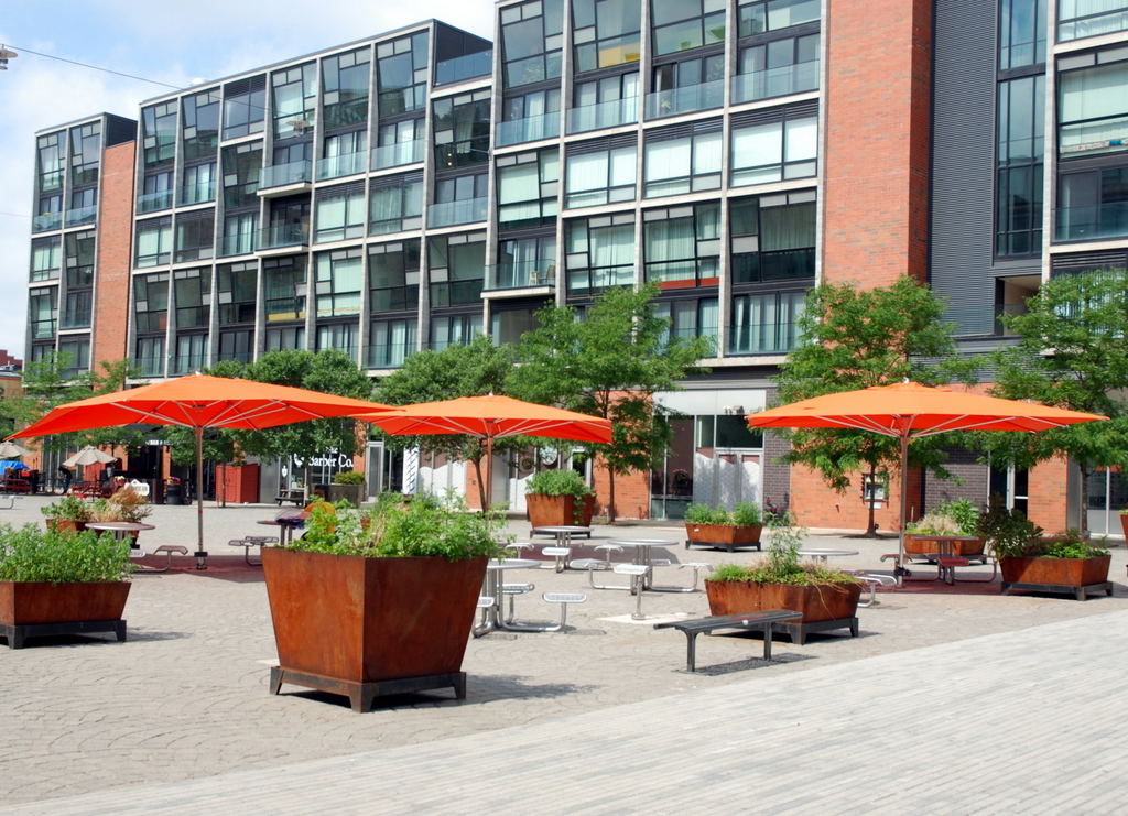 Piazza Schmidts, Northern Liberties , Philadelphie, Pennsylvanie, É.-U.