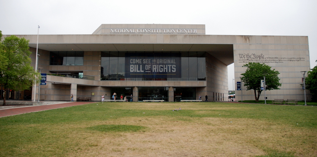 National Constitution Center, Philadelphie, Pennsylvanie, É.-U.
