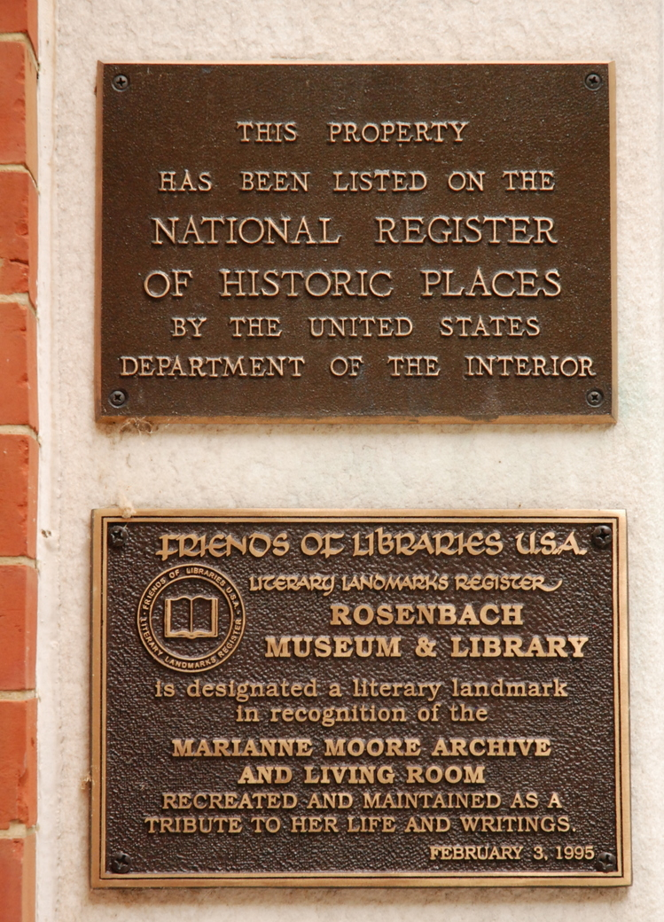 The Rosenbach Museum and Library, Philadelphie, Pennsylvanie, É.-U.