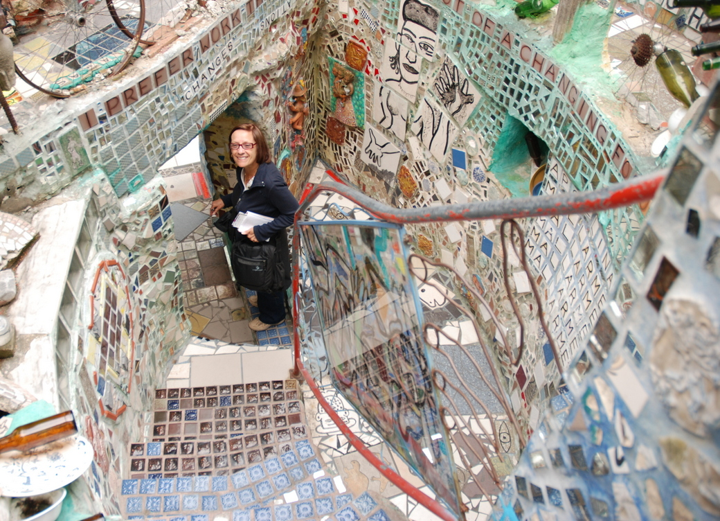 Philadelphia's Magic Gardens, Philadelphie, Pennsylvanie, É.-U.