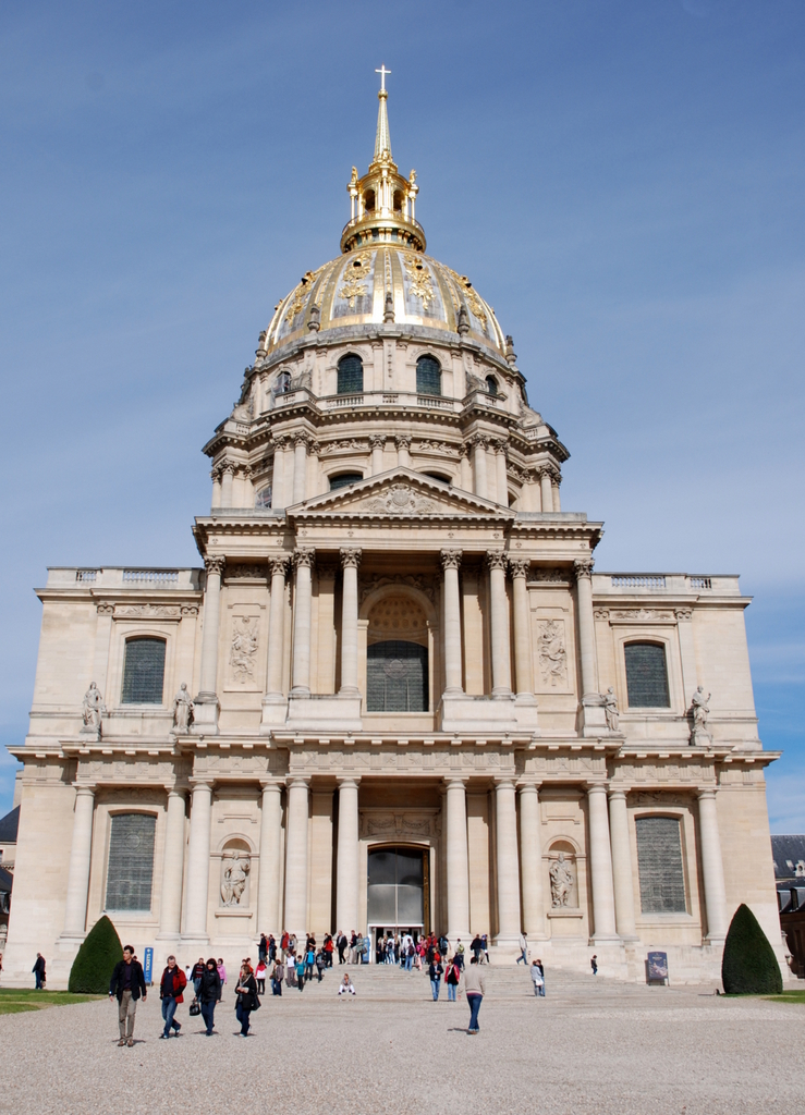 Église du Dôme, Hôtel royal des Invalides, Paris, France.