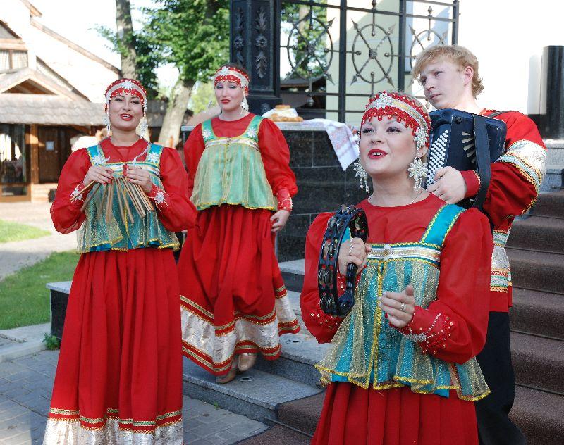 Folklorique russe photo costume masculin