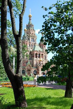 Église Saints-Pierre-et-Paul, Peterhof, Russie.