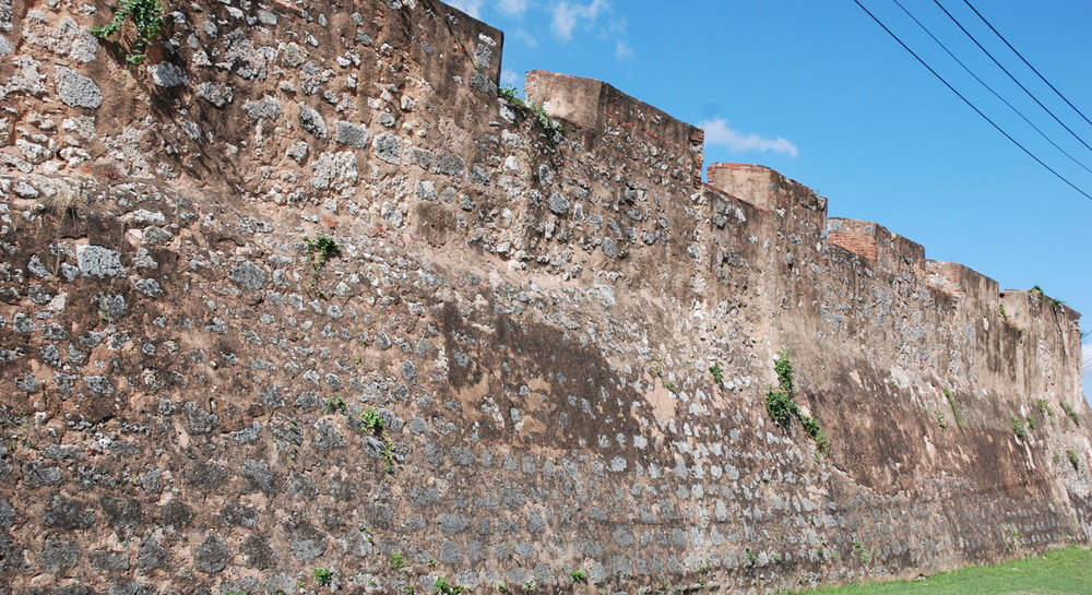 Fortifications, Santo Domingo, République dominicaine.