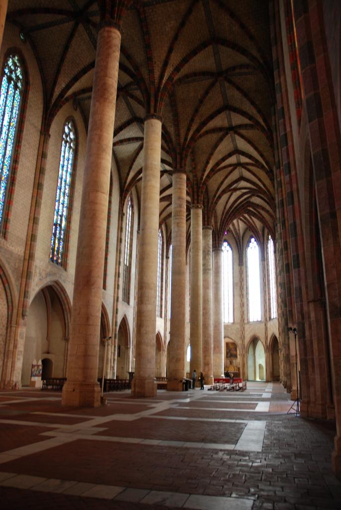 Toulouse l cole des beaux arts notre dame la daurade for Interieur d un couvent streaming