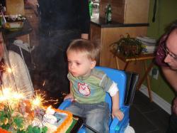 Deuxième anniversaire de Félix janvier 2007.