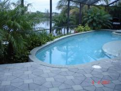 Notre piscine.