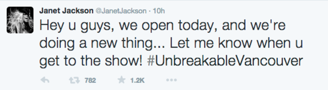 unbreakablevancouver tweet