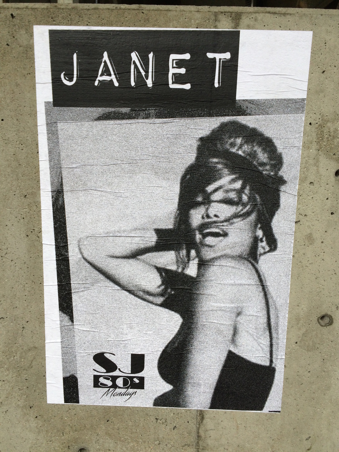 Janet street poster