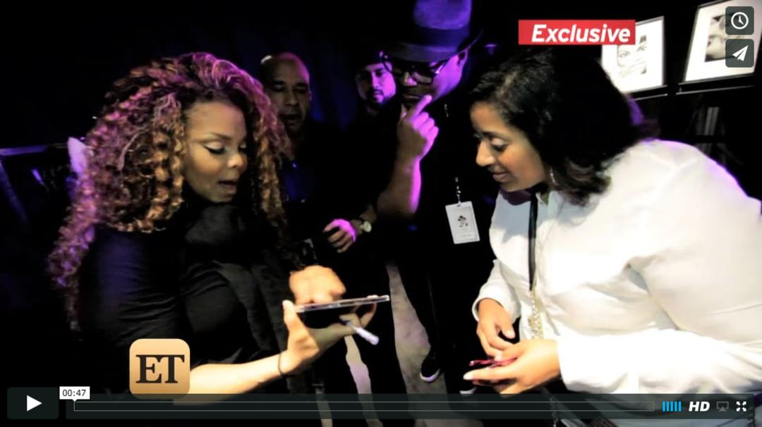 Janet surprises fans