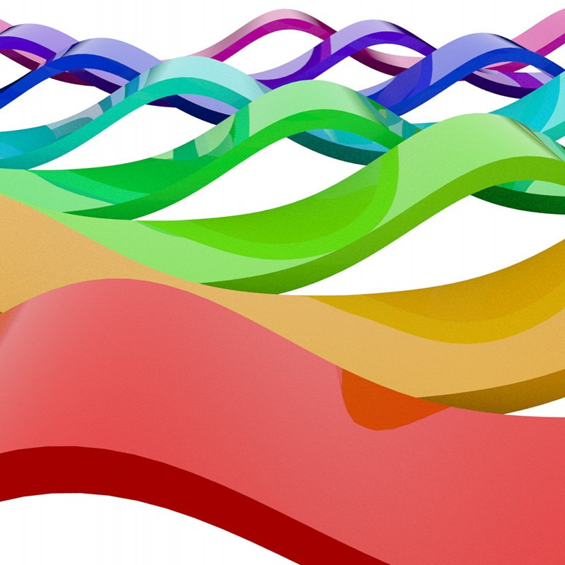 Creating a Wave of Ribbons