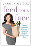 Book COVER 'JESSICA WU M.D. - feed your face'