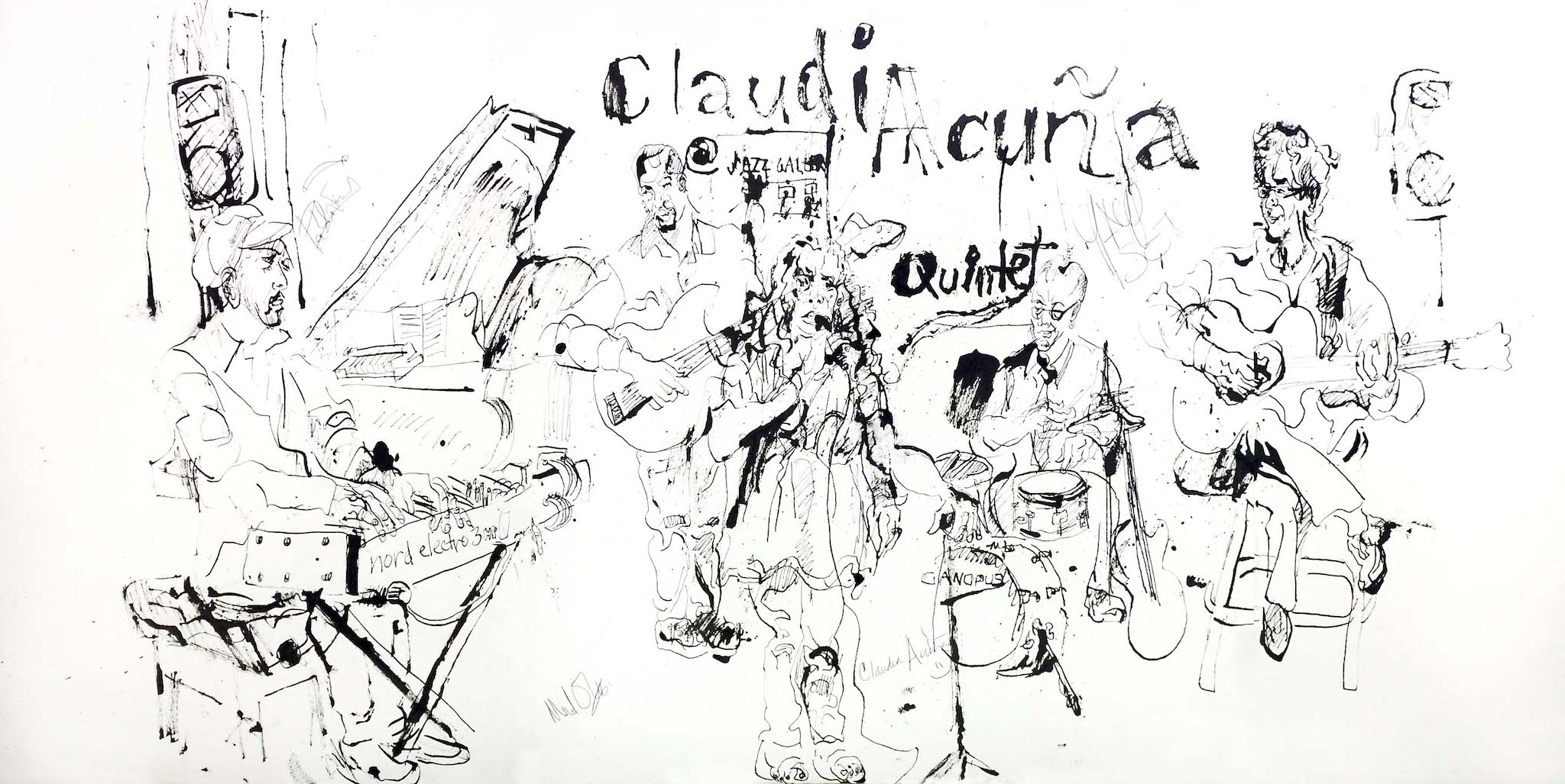 Claudia acuna quintet and jazz gallery 2013