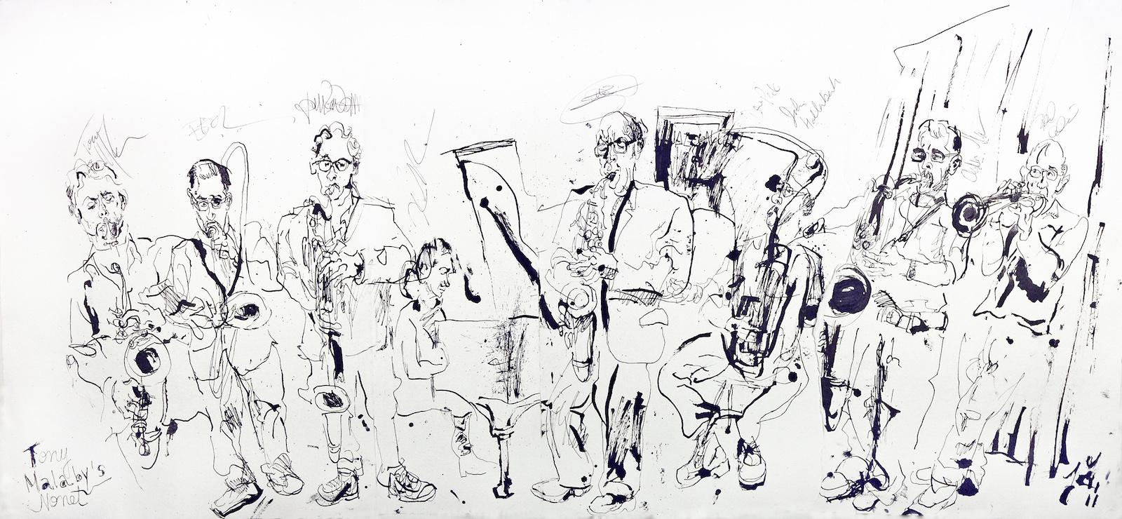 Tony malaby nonet at jazz gallery 2011