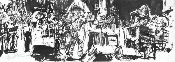 Van morrison at supper club 1996