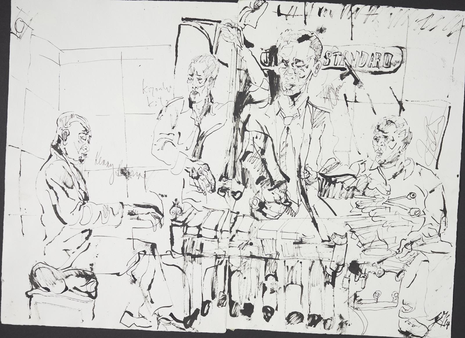 Kenny barron quartet at jazz standard 2014