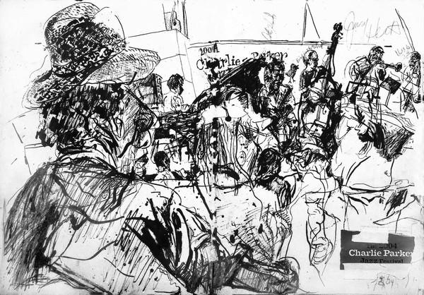 Frank morgan quintet at charlie parker 2014