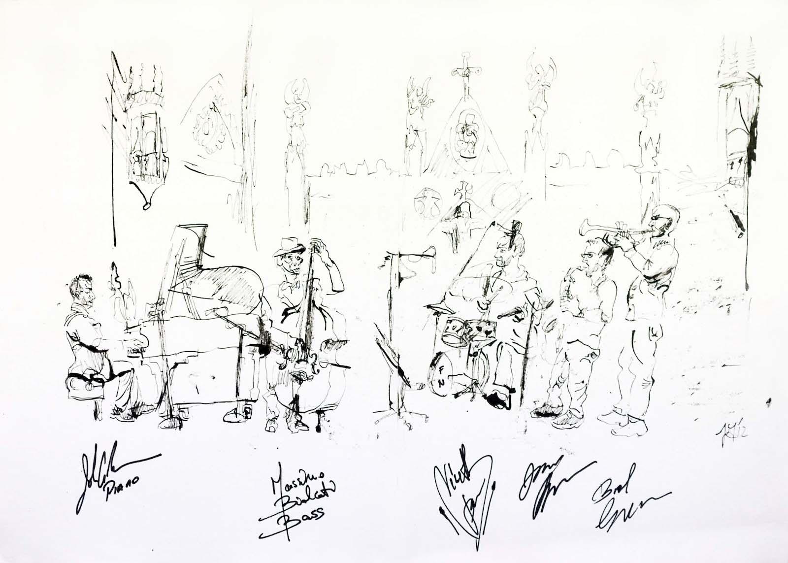 John ambrosini quintet at the trinity church 2012