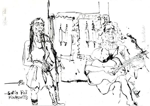 Sofia rei koutsovitis with lucia pulido