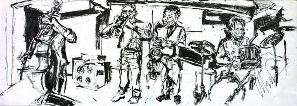 Max roach quartet at iridium 1996
