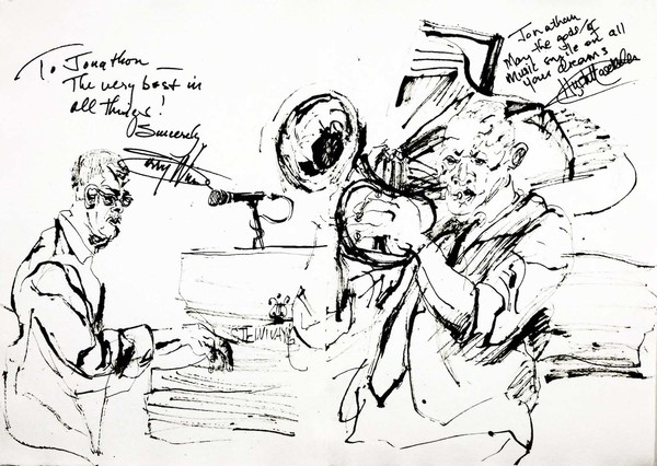 Hugh masekela  larry willis at jazz standard