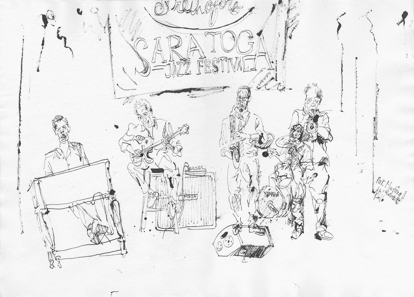 Pat martino quintet at spac
