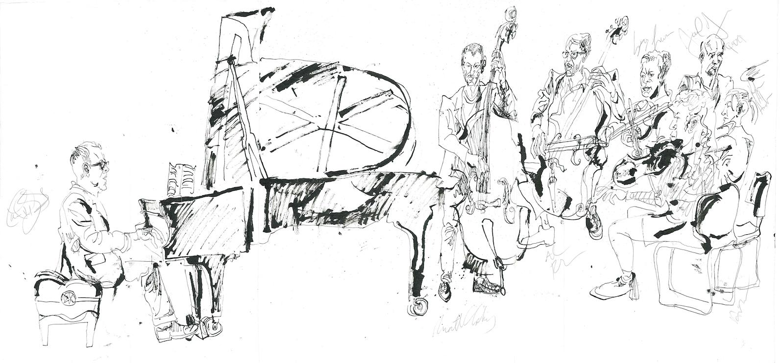 Lawrence hobgood orchestra at yamaha studios