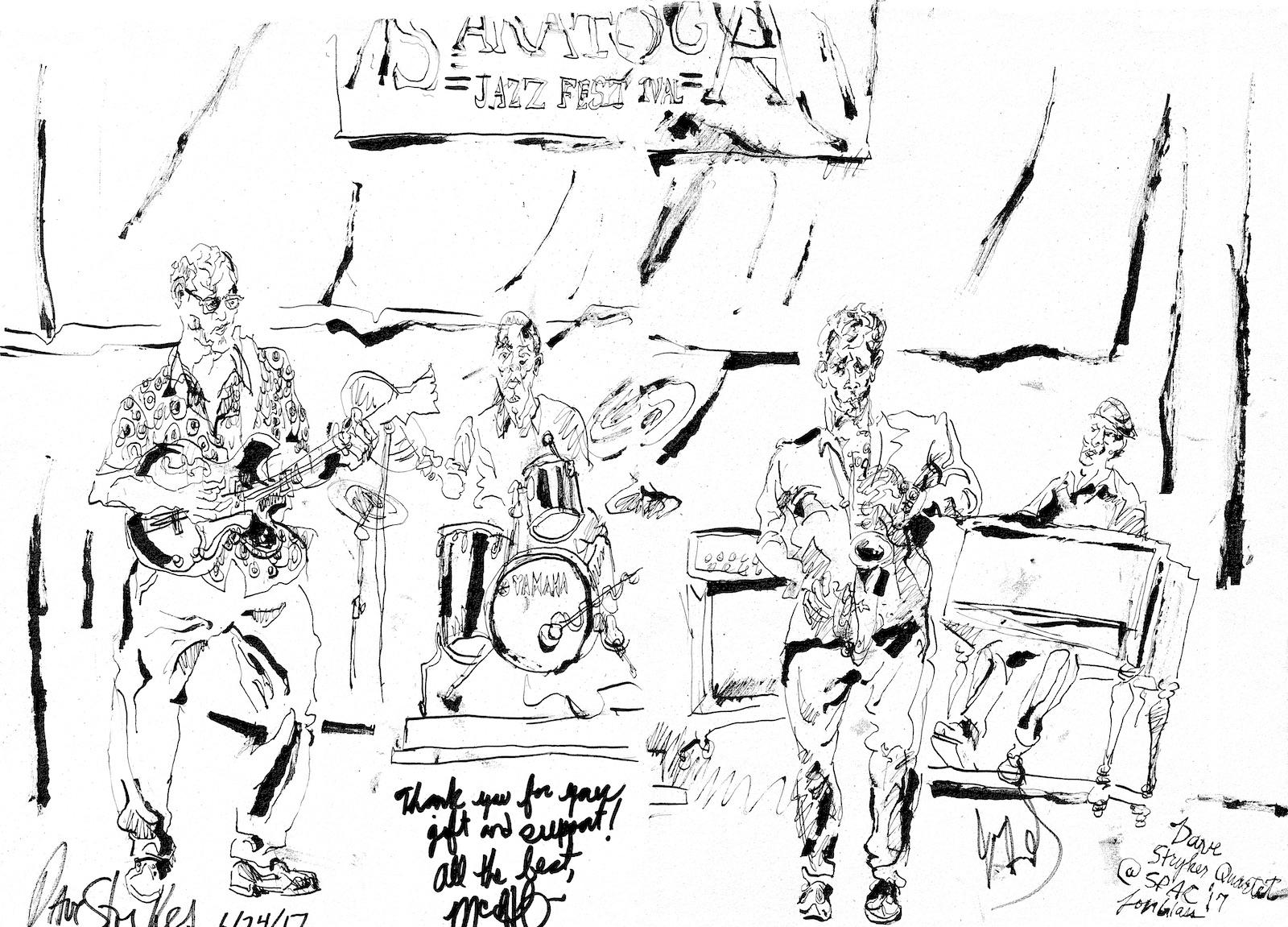 Dave stryker quartet at freihoffer s jazz festival %28spac%29
