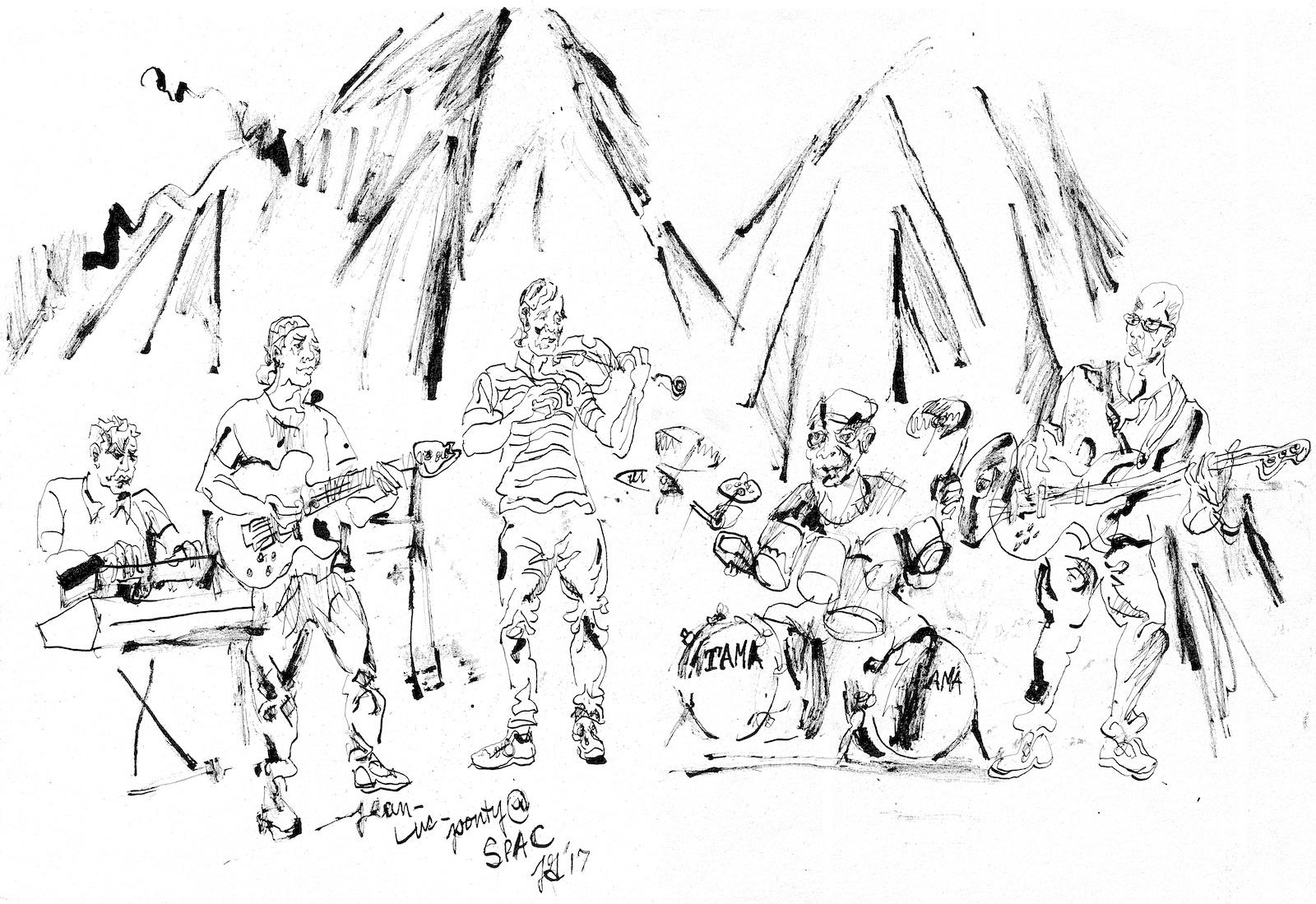 Jean luc ponty quintet at freihoffer s jazz festival %28spac%29