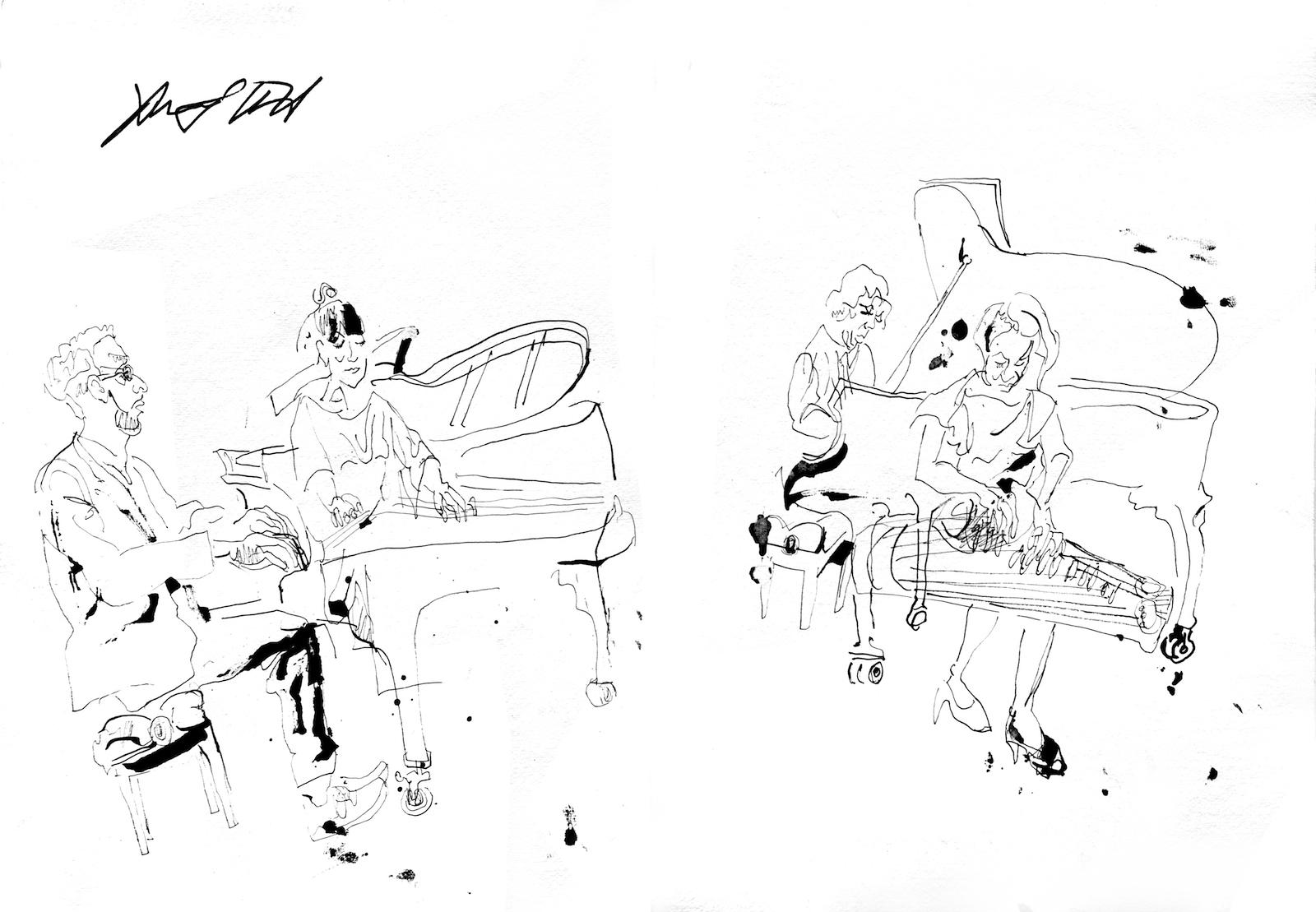 Andy milne piano and koto quartet 2016