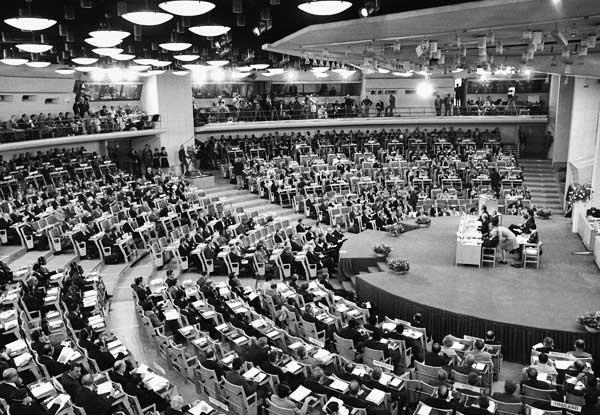 A Conferência das Nações Unidas sobre o Meio Ambiente Humano, aconteceu em junho de 1972, em Estocolmo, na Suécia, foi um marco importante para as discussões sobre desenvolvimento e meio ambiente (FOTO: Reprodução)