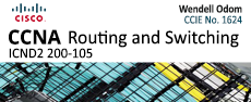 ICND2-200-105 - Pearson Cisco: CCNA Routing and Switching (ICND2 200-105) Official Cert Guide Testprep  lesson