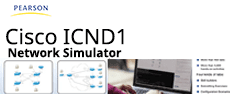 pearson-ICND1-simulator-v4.0 - CCENT ICND1 100-105 Pearson uCertify Network Simulator  live-lab