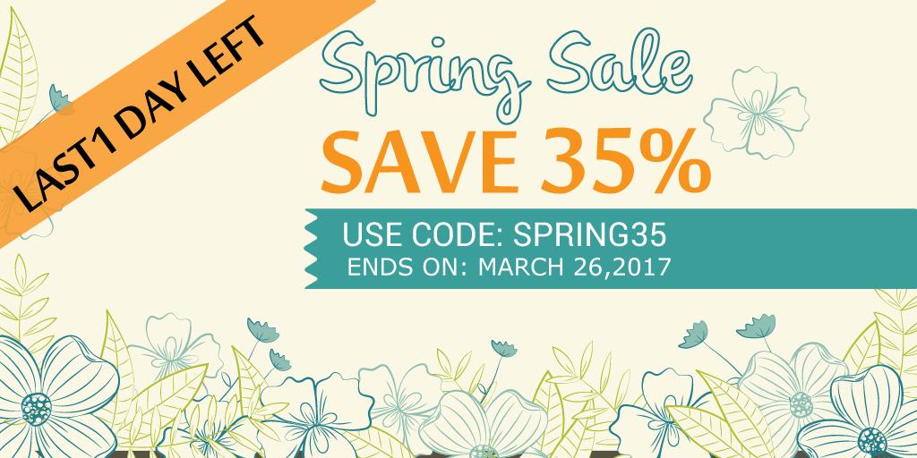 Spring Sale uCertify