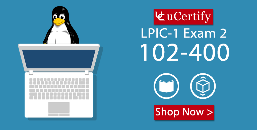 uCertify Complete Study Guide For The LPIC-1 102-400 Exam