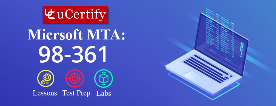 98-361 : MTA: Software Development Fundamentals (Course & Lab)