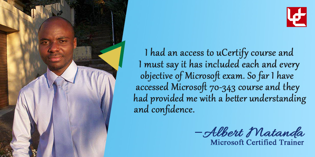 Albert Reviewed Ucertify 70 343 Ms Project 2013 Course
