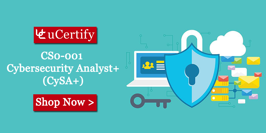 CompTIA CySA CS0-001 Exam uCertify Course