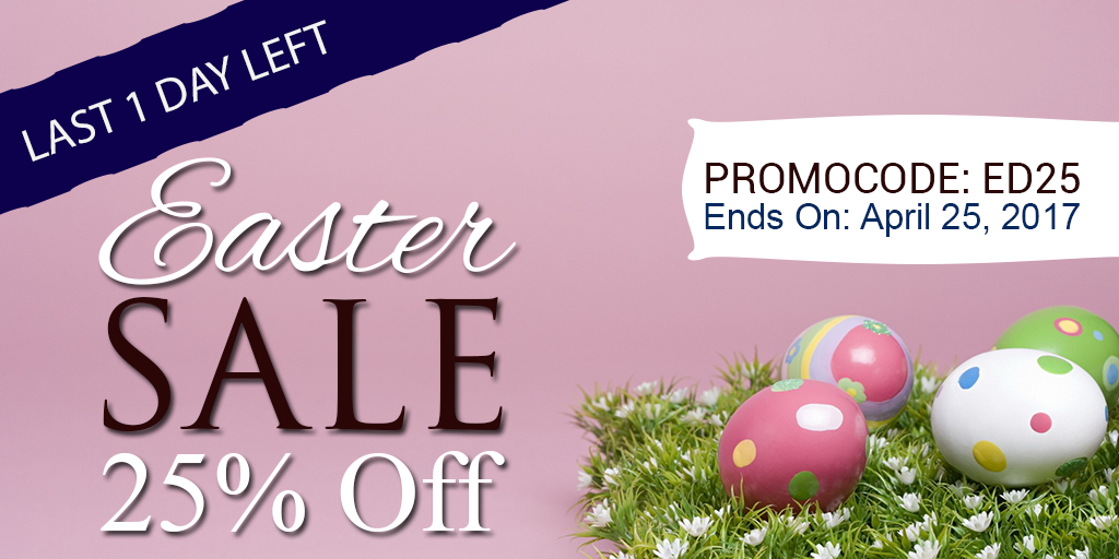 Easter sale last day