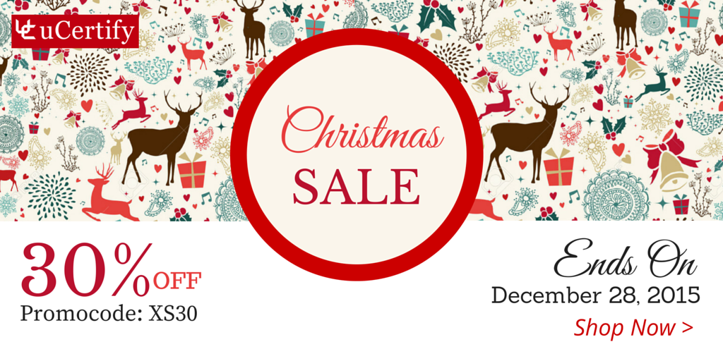 uCertify's Christmas Sale