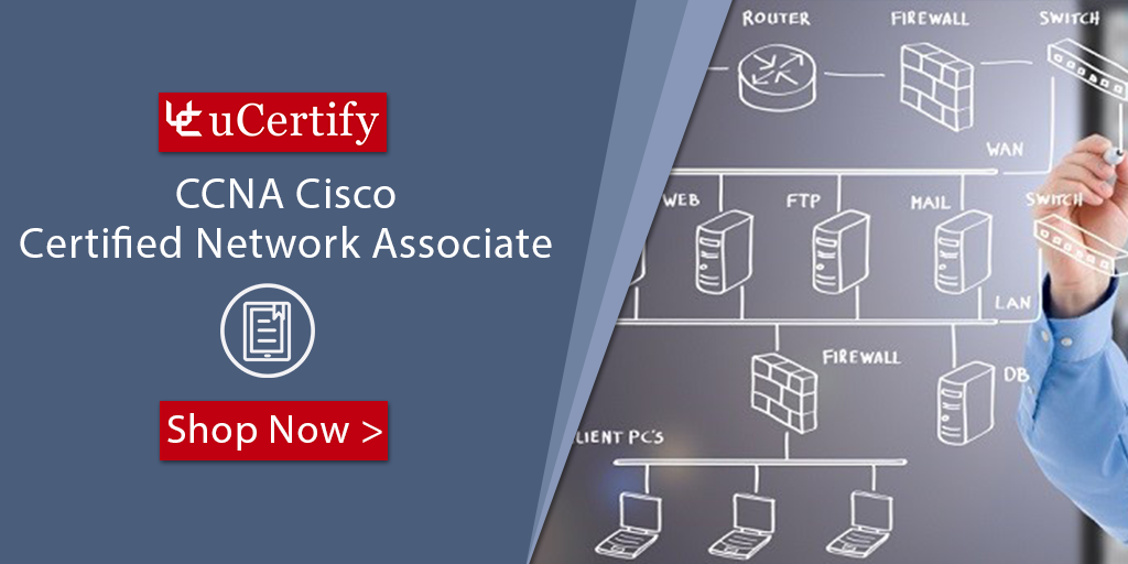 Pass Cisco CCNA 200-125 Exam- uCertify Cisco CCNA Training Course