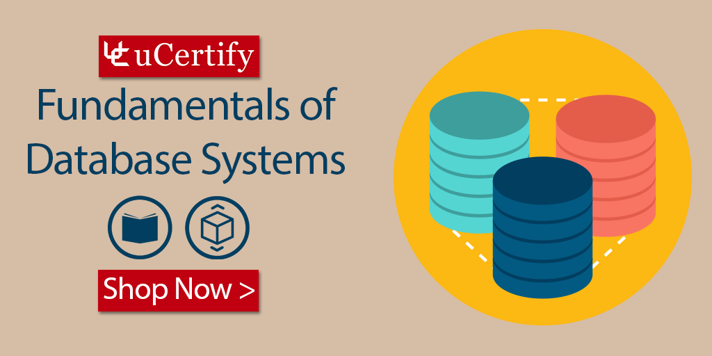 Learn Database Systems Concepts With uCertify Study Guide