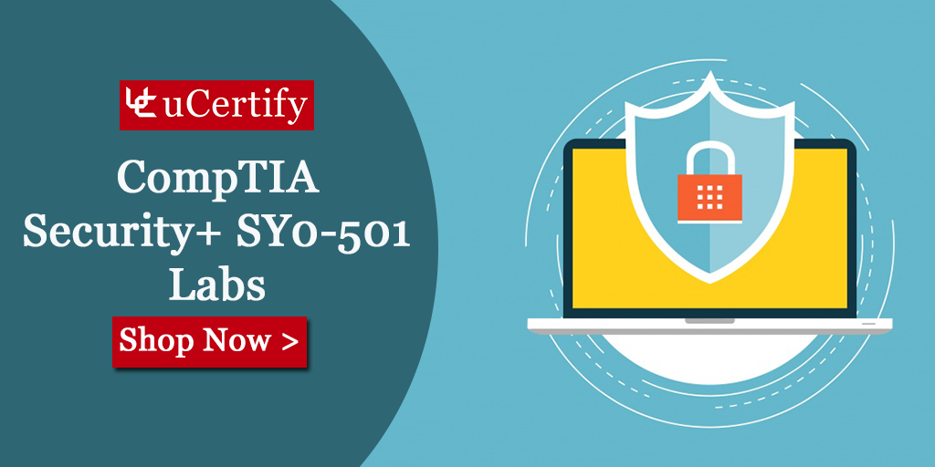 Security Fundamentals With CompTIA Security+ SY0-501 Course - uCertify