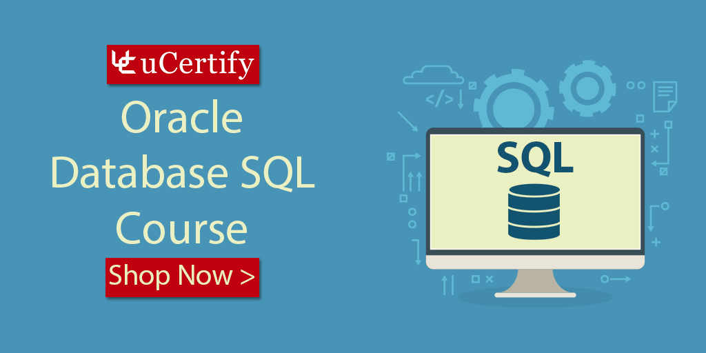 Learn Oracle Database SQL With uCertify Cert Guide