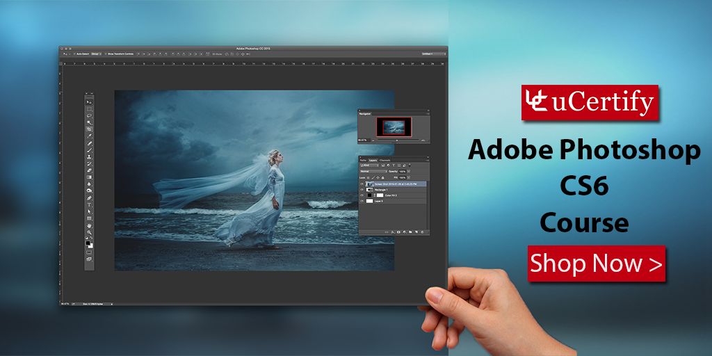 Get Adobe Photoshop CS6 Certification with uCertify's Study Guide